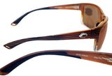 Costa Del Mar Mag Bay Wood Fade Frame Copper 580P Plastic Polarized Lens