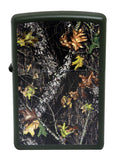 Zippo 28332 Mossy Oak Breakup Green Matte Windproof Pocket Lighter NEW