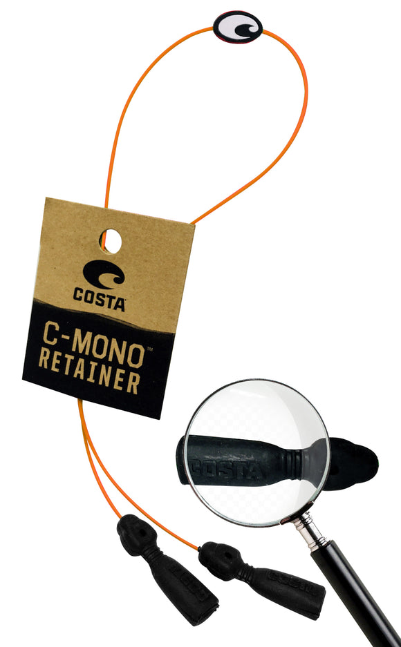 Costa Del Mar C-MONO Retainer Orange NEW