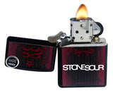 Zippo 29731 Stone Sour Rock Music Band Logo Black Matte Finish Windproof Lighter