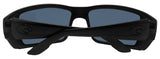 Costa Del Mar Permit Blackout Frame Gray 580P Plastic Polarized Lens