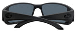 Costa Del Mar Blackfin Matte Gray Frame Blue Mirror 580G Glass Polarized Lens