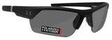 Under Armour 8631051-010108 igniter 2.0 satin black frame gray polarized lens