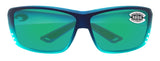 Costa Del Mar Cat Cay Caribbean Fade Green Mirror 580G Glass Polarized Lens