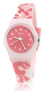 Swatch LP157 Camourose Rose Pink ladies Watch New