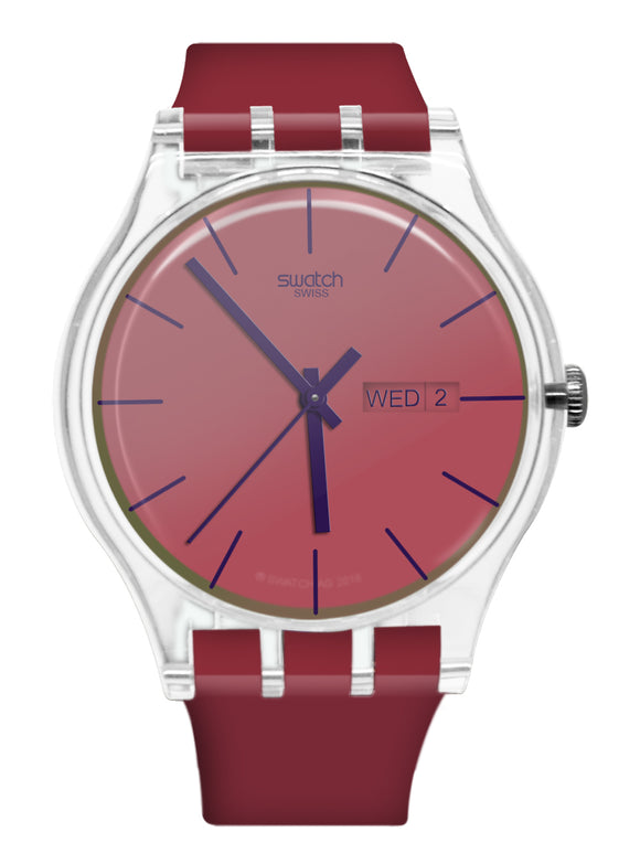 Swatch SUOK717 Polared transformation collection WATCH RED