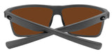 Costa Del Mar Rinconcito Matte Gray Green Mirror 580 Glass Polarized Lens