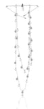 Swarovski penélope cruz moonsun necklace long white rhodium plated NIB 5509171