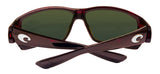 Costa Del Mar Tuna Alley Reader C-Mate 2.00 Tortoise Copper 580 Plastic Lens New