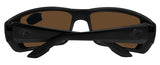 Costa Del Mar Permit Blackout Frame Blue Mirror 580G Glass Polarized Lens