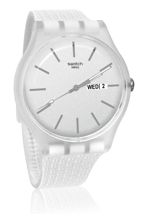 Swatch SUOW710 Bricablanc White color  Watch