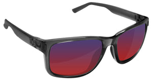 Under Armour 8600101-179051 assist shiny crystal smoke gray frame infrared lens
