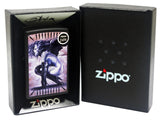 Zippo 29474 Olivia De Berardinis Banshee Black Matte Finish Windproof Lighter