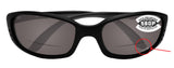 Costa Del Mar Brine Readers C-Mate Black +2.50 Gray 580P Plastic Polarized Lens