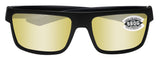 Costa Del Mar Motu Blackout Sunrise Silver Mirror 580G Glass Polarized Lens