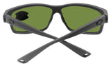 Costa Del Mar Cut Matte Gray Frame Blue Mirror 580G Glass Polarized Lens