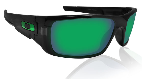 Oakley Crankshaft Black Ink Jade Iridium lens New in Box OO9239-0260