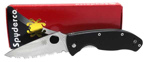 Spyderco Tenacious G10 Handles Folding Knife C122GS NEW