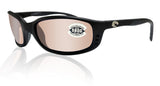 Costa Del Mar Brine Black Frame Silver 580G Glass Polarized Lens