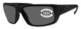 Costa Del Mar Fantail Blackout Frame Gray 580G Glass Polarized Lens