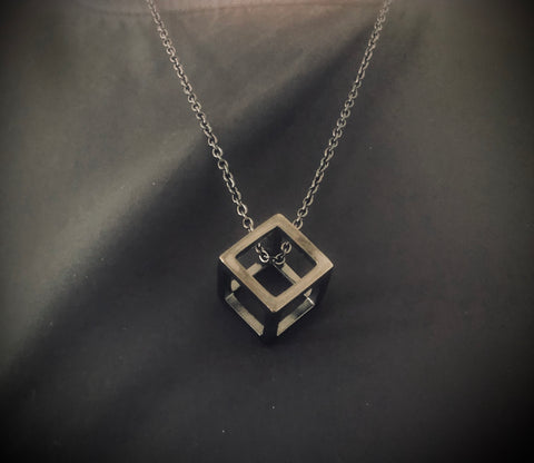 The SKANDi Cube Necklace