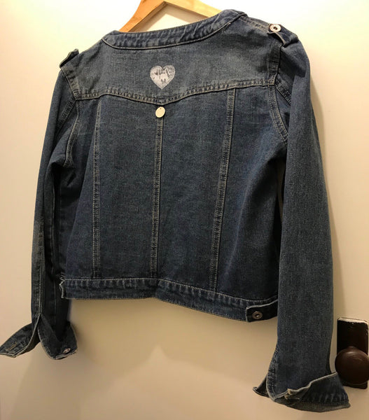 'Love SKANDi' Denim Jacket