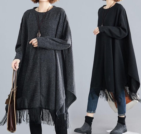 The SKANDi Tassel Tunic Top