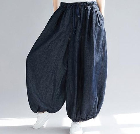 The SKANDi Denim Tulip Pant