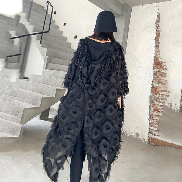 The SKANDi Birds Of A Feather Hooded Cape