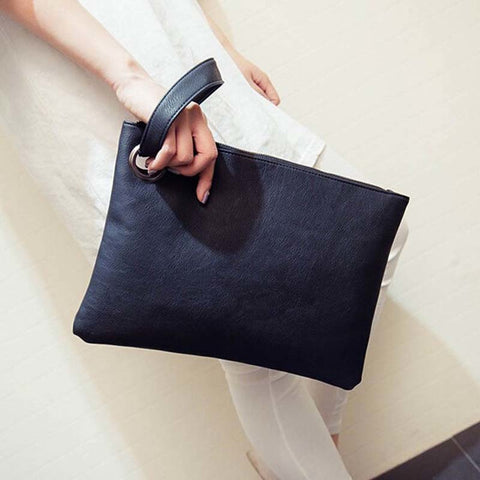Leatherette Clutch