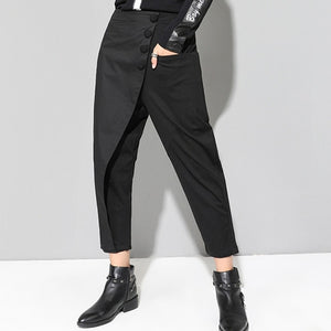 Drop Crotch High Waist Pants