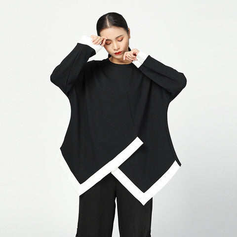 The Asymmetry Long Sleeve Top