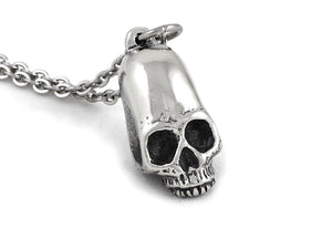 Elongated Human Skull Necklace, Inca Maya Jewelry