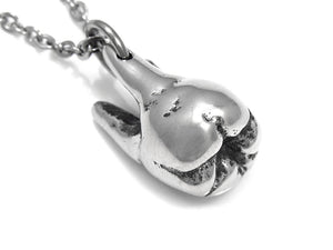 Molar Tooth Necklace, Dentist Jewelry in Pewter