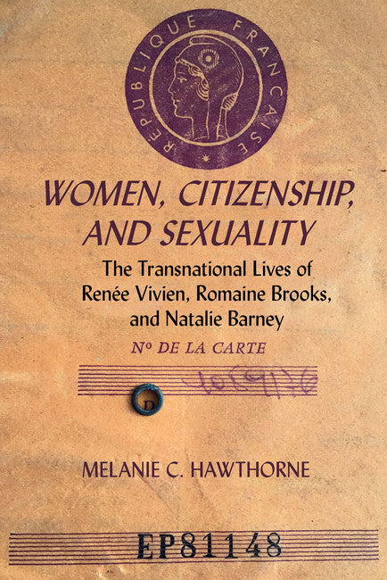link to Women, Citizenship, and Sexuality book