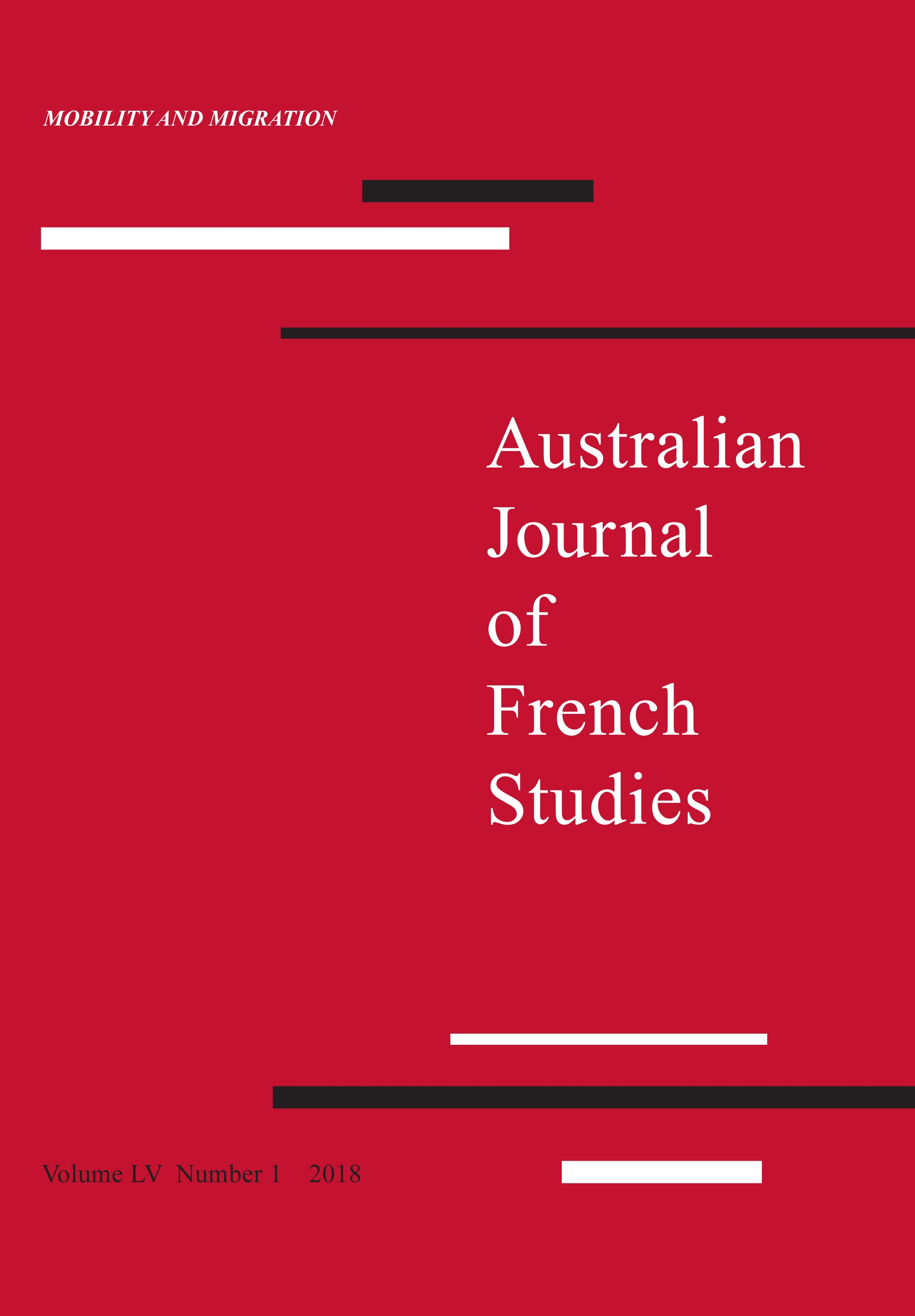 link to Australian Journal of French Studies