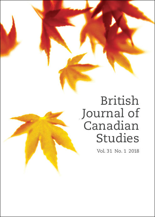 link to British Journal of Canadian Studies