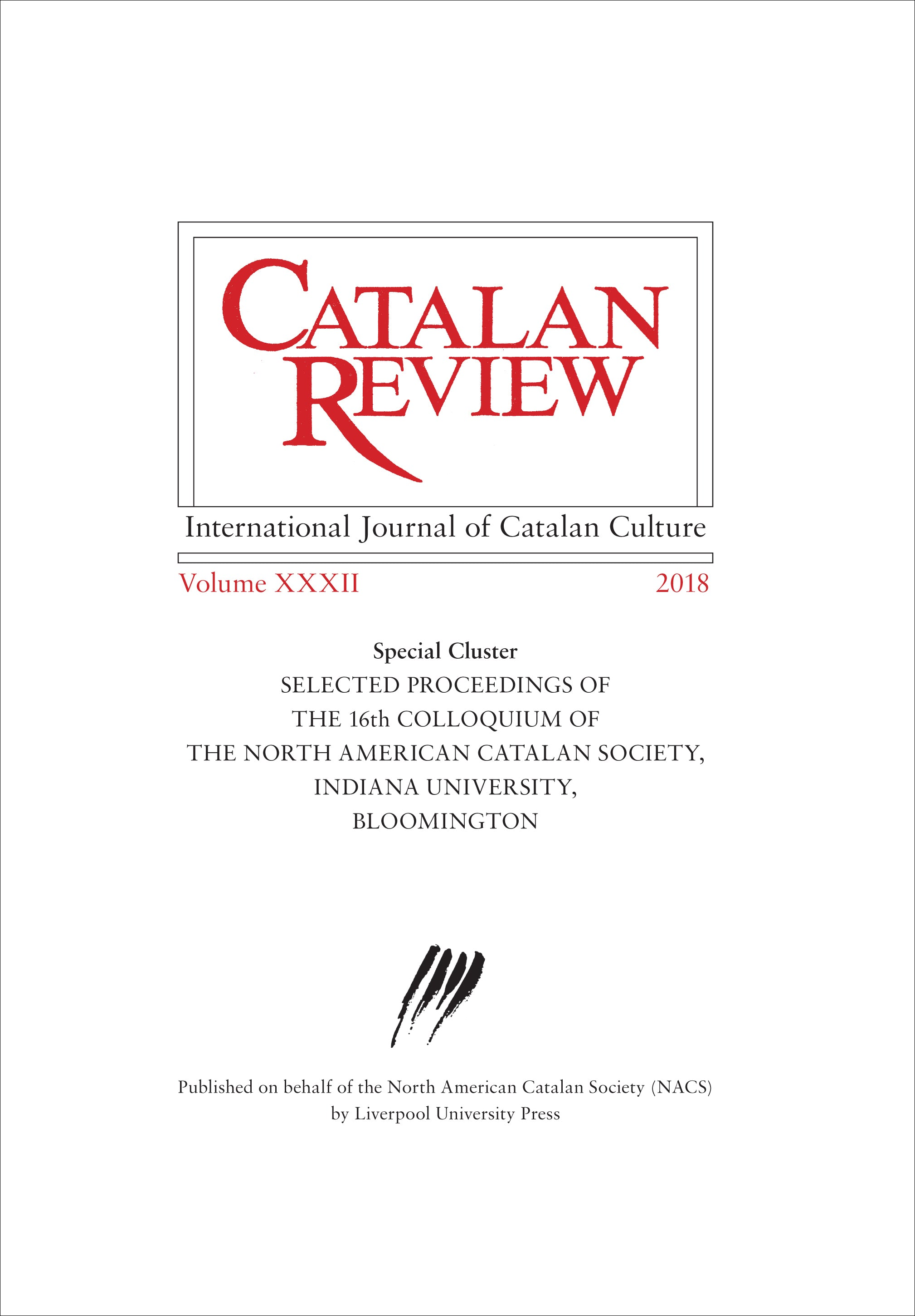 link to Catalan Review