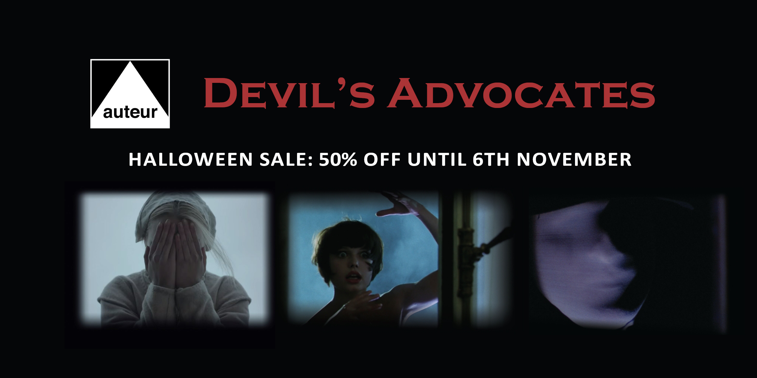 Devil's Advocates Halloween sale