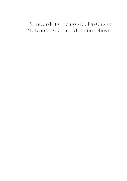 Australian Journal of French StudiesAustralian Journal of French Studies, 53:1-2: . Allan, Derek
