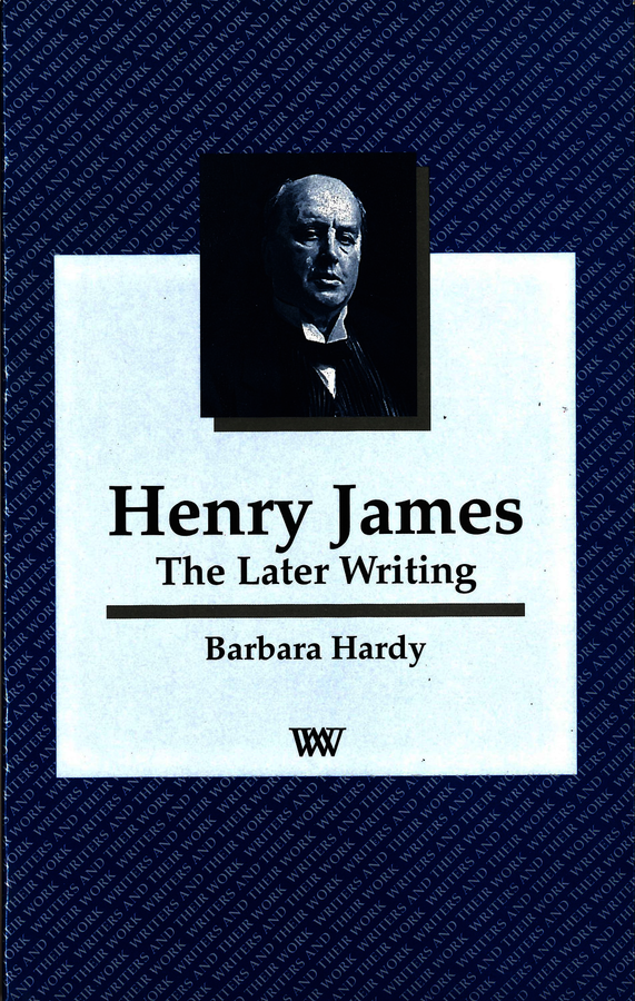Henry James. Hardy, Barbara (9780746307489). Paperback.