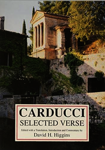 Carducci: Selected Verse. Higgins, David (9780856686306). Paperback.