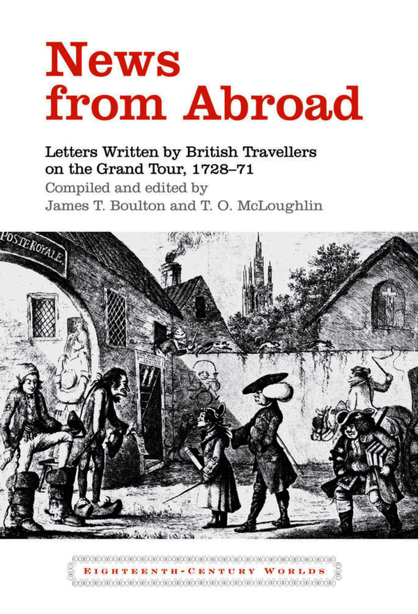 News from Abroad. Boulton, James T.; McLoughlin, T. O. (9781846318504). Hardback.