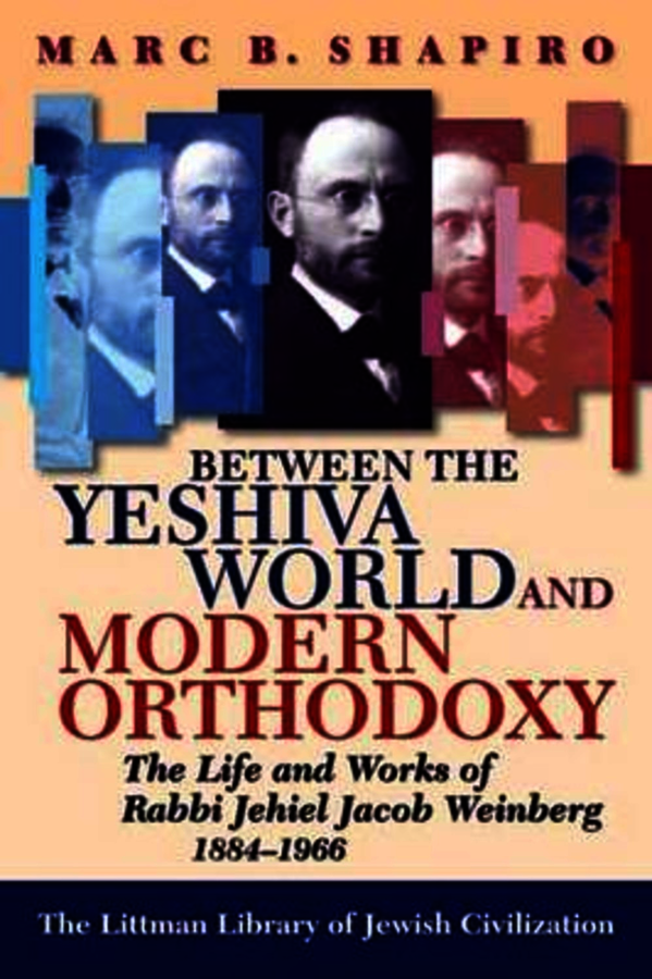 Between the Yeshiva World and Modern Orthodoxy. Shapiro, Marc B. (9781874774914). Paperback.