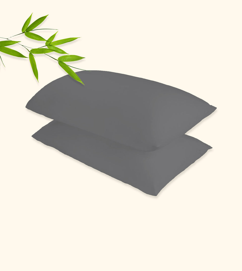 Charcoal Bamboo Pillowcase Set - MASTER WOO