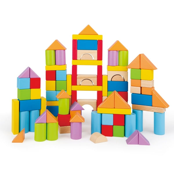 101-piece Wonderful Beech Blocks