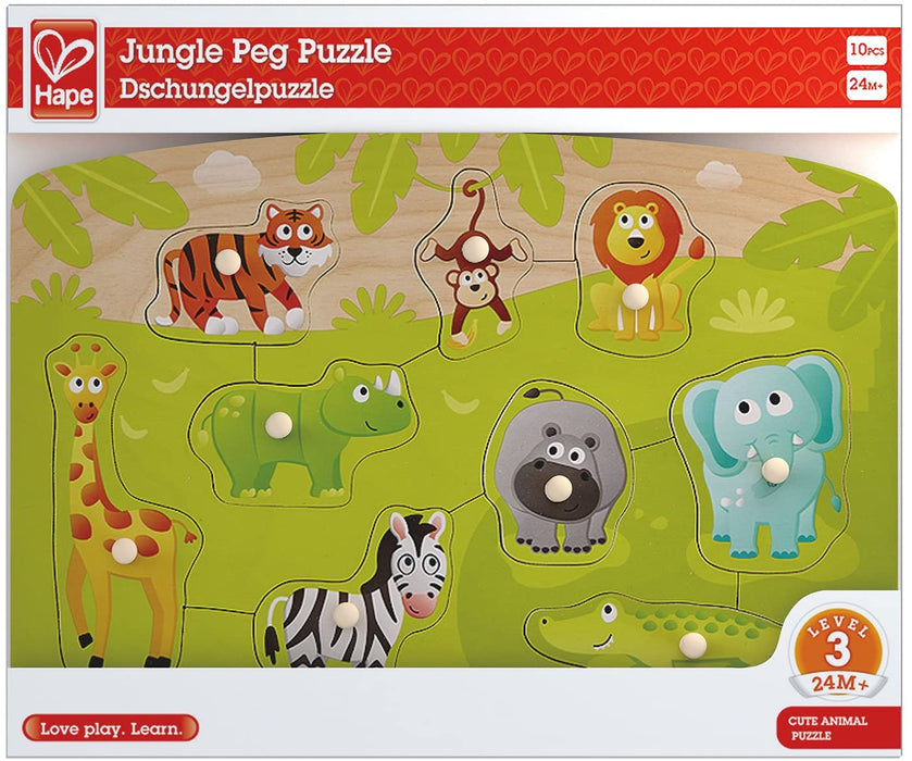 Jungle Peg Puzzle