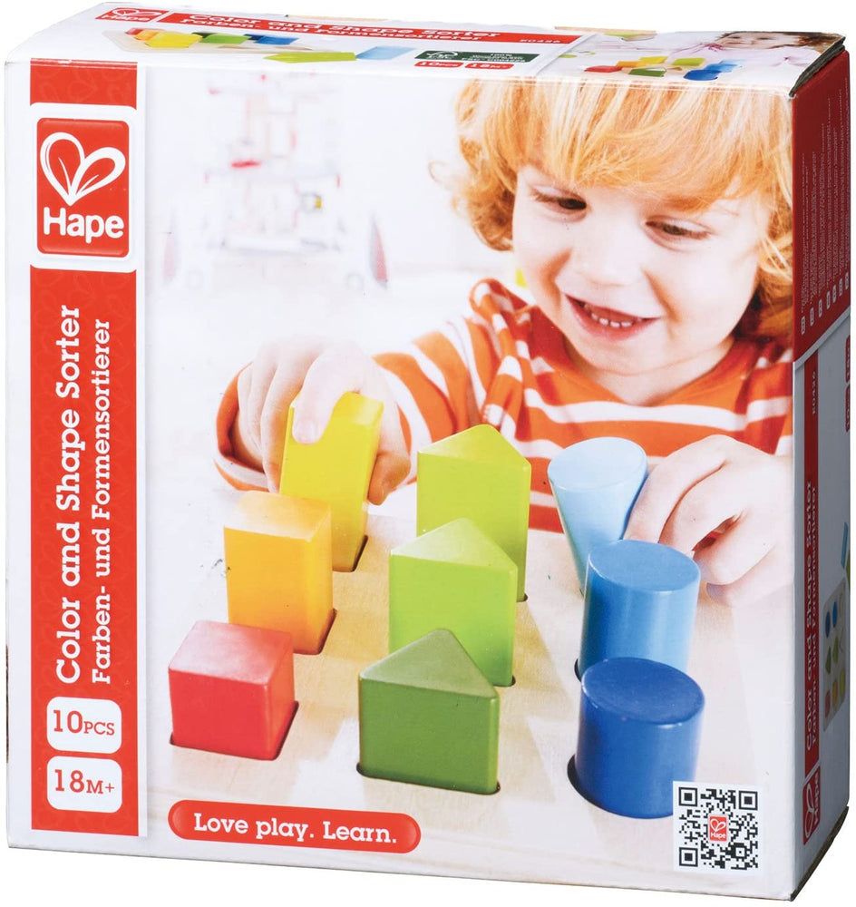 Color And Shape Sorter