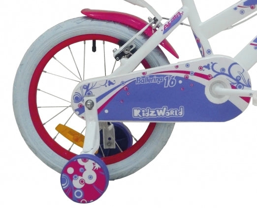 "Atala Italy Ballerina 16"" Kid'S Bike - White"