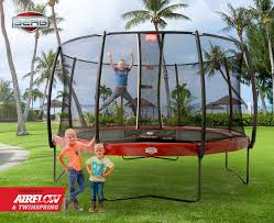 Elite Trampoline With Safety Net 11 Ft. (330) Red